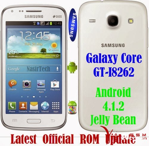 Android 4.1.2 JB Official ROM Update for Galaxy Core I8262.jpg